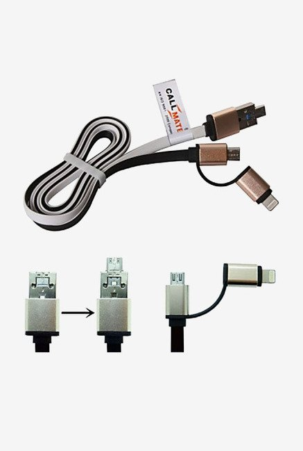 Callmate OTG Style 2 in 1 Cable (White)