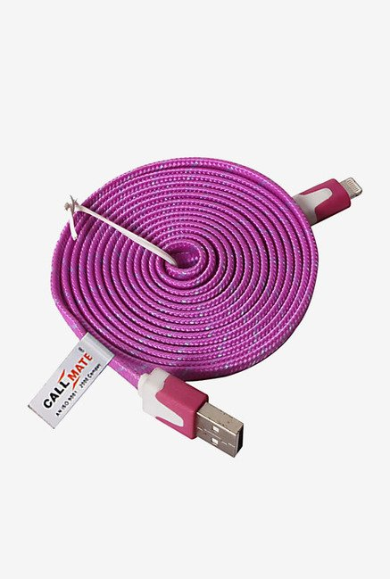 Callmate High Speed Cable for iPhone 5/5S/5C/6/6 Plus (Pink)