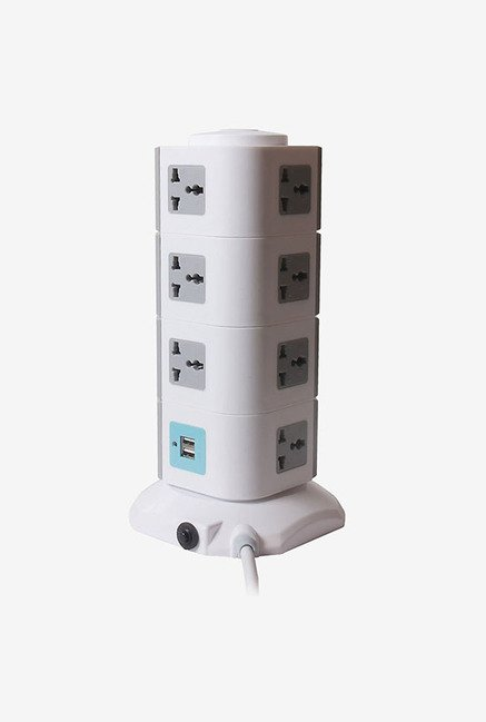 Callmate Multi Socket Power Stripe Extension (White)