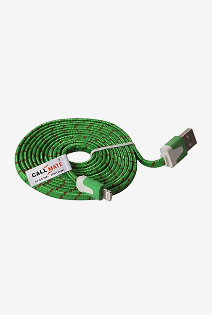 Callmate High Speed Cable for iPhone 5/5S/5C/6/6 + (Green)