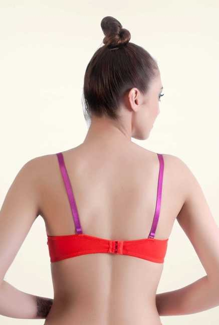 Bwitch Red Front Open Bra