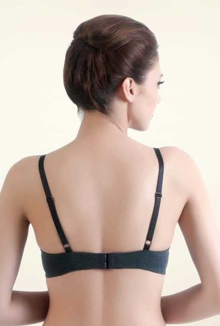 Bwitch Charcoal Seamless Bra