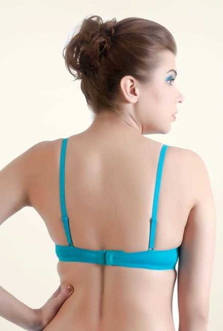 Bwitch Turquoise Plunge Bra