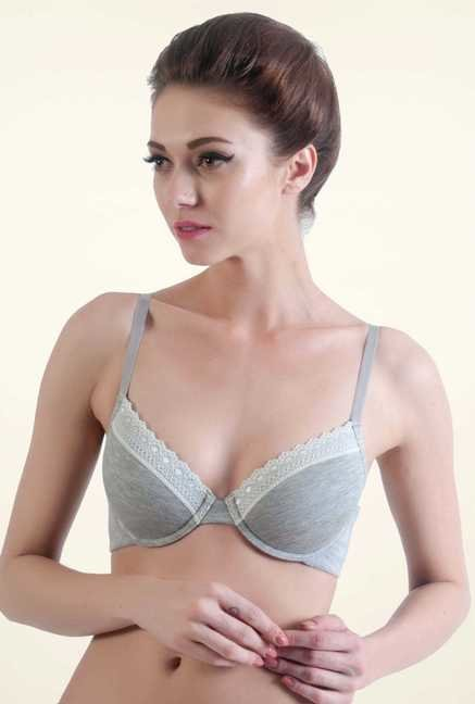 Bwitch Grey Seamless Bra