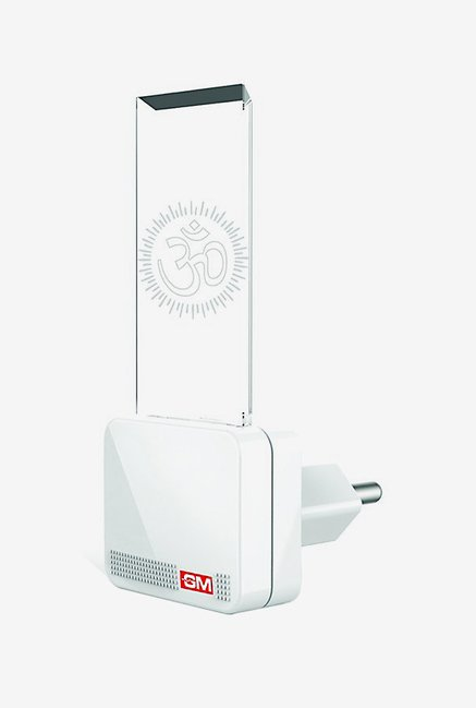 GM 3081 Shubham 0.5 Watt Night Lamp (White)