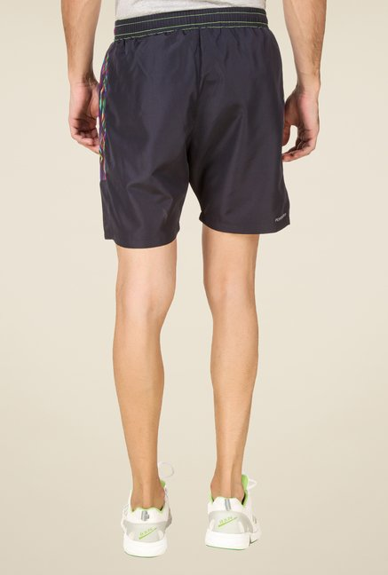 Spunk Grey Solid Shorts