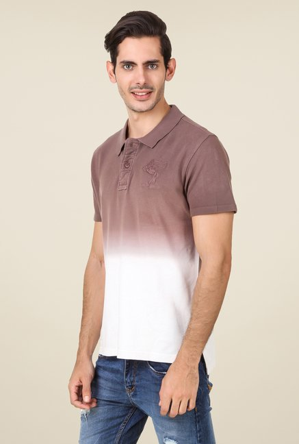 Spunk Brown Ombre T Shirt