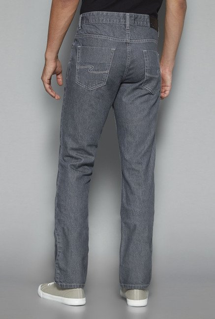 Westsport by Westside Grey Raw Denim Jeans