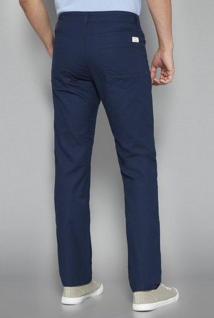 Westsport by Westside Navy Solid Chinos