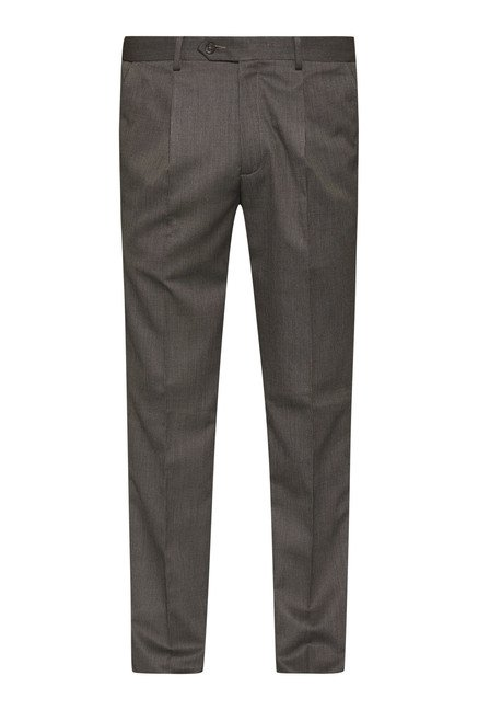 Weststreet by Westside Brown Solid Trouser