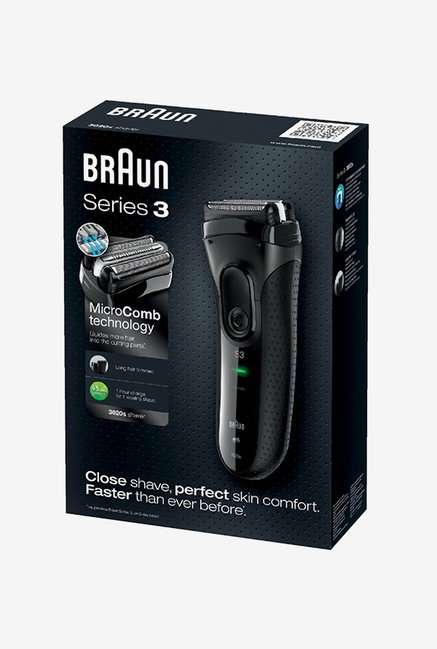 Braun Series 3 3020 Shaver for Men (Black)