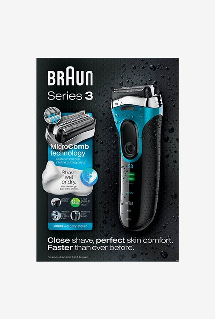 Braun 3080 Shaver for Men (Black)