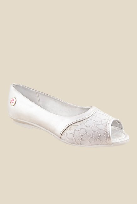 Barbie Silver Peeptoe Shoes