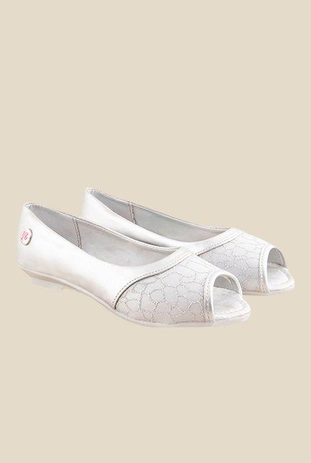 Barbie Silver Peeptoe Shoes
