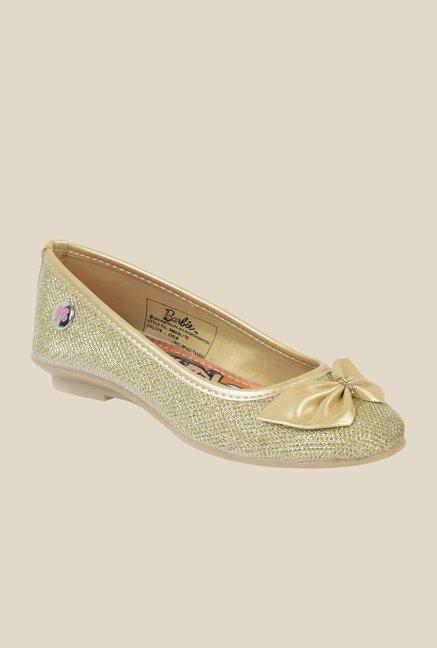 Barbie Golden Ballerina Shoes