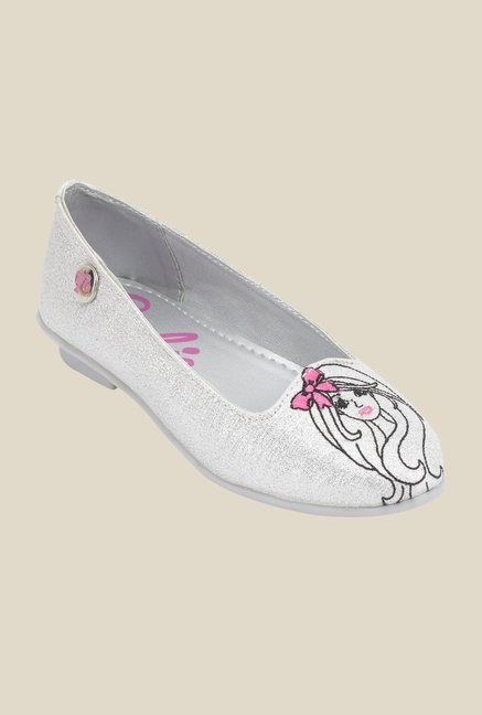 Barbie Silver Ballerina Shoes