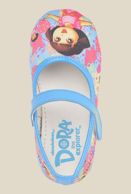 Dora Blue Mary Jane Shoes