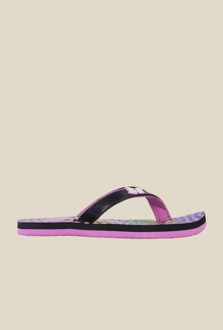 Barbie Black & Purple Flip Flops