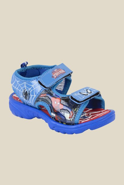 Spiderman Royal Blue Floater Sandals