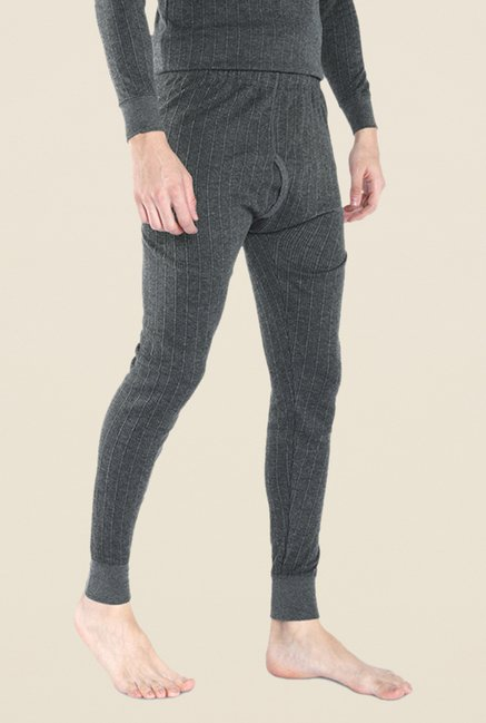 Park Avenue Grey Textured Pant