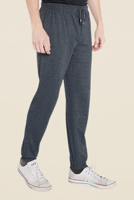 Park Avenue Grey Solid Pant