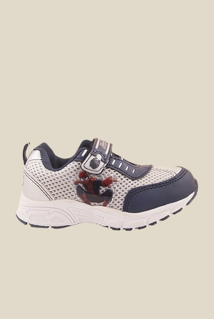 Spiderman Grey & Navy Casual Shoes