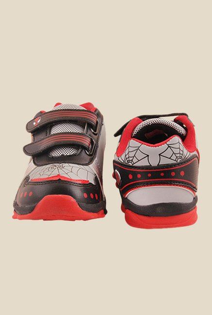 Spiderman Silver & Black Casual Shoes