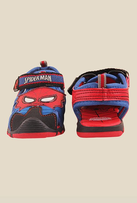 Spiderman Red & Blue Fisherman Sandals