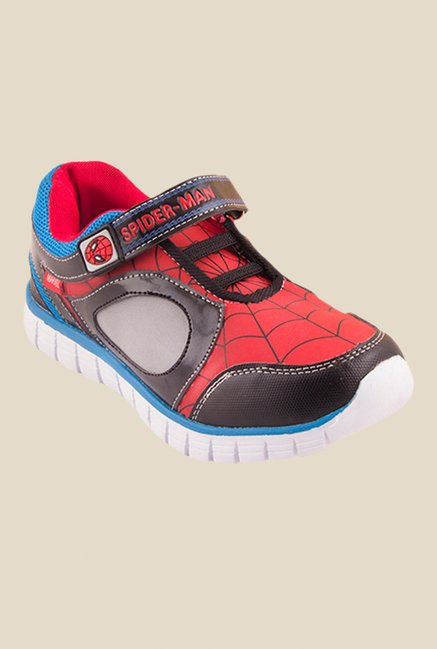 Spiderman Red & Blue Casual Shoes