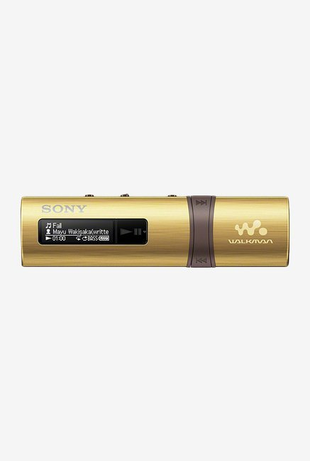 Sony Walkman NWZ-B183F 4 GB MP3 Player (Gold)