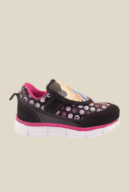 Barbie Black & Pink Casual Shoes