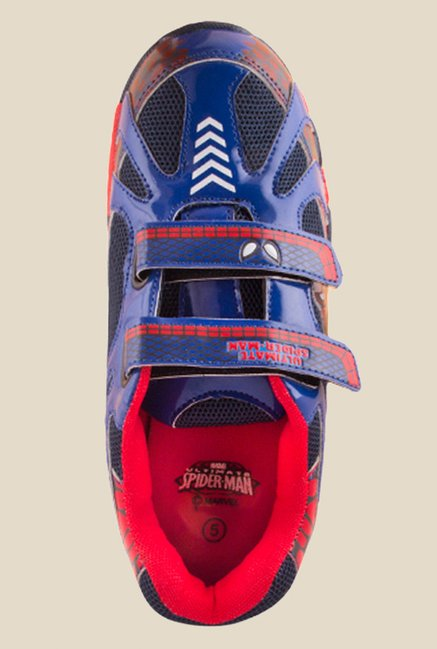 Spiderman Blue & Red Casual Shoes
