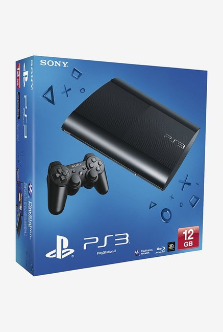 Sony PlayStation 3 (PS3) 12 GB with Stand Alone (Black)