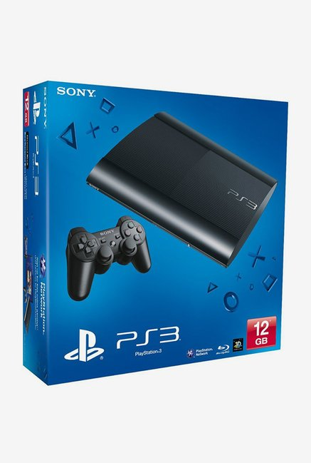 Sony PlayStation 3 (PS3) 12 GB Chassis (Black)