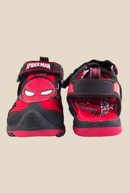 Spiderman Red & Black Fisherman Sandals