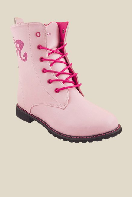 Barbie Light Pink Casual Boots