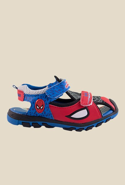 Spiderman Red & Blue Floater Sandals