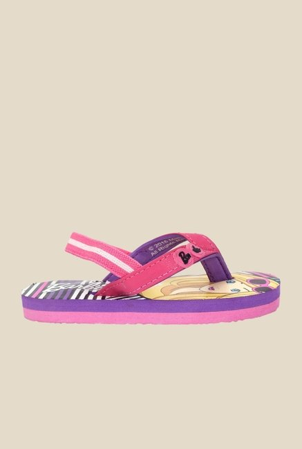Barbie Pink & Purple Flip Flops