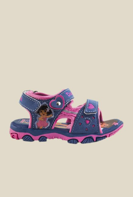 Dora Blue & Pink Floater Sandals