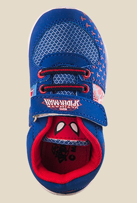Spiderman Blue Casual Shoes