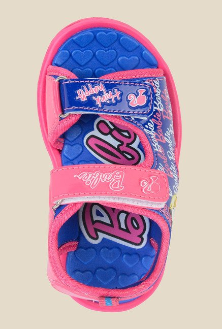 Barbie Blue & Pink Floater Sandals