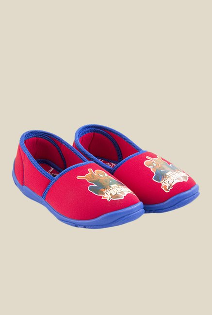 Spiderman Red & Blue Plimsolls