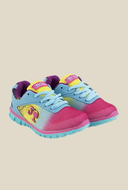 Barbie Blue & Pink Casual Shoes