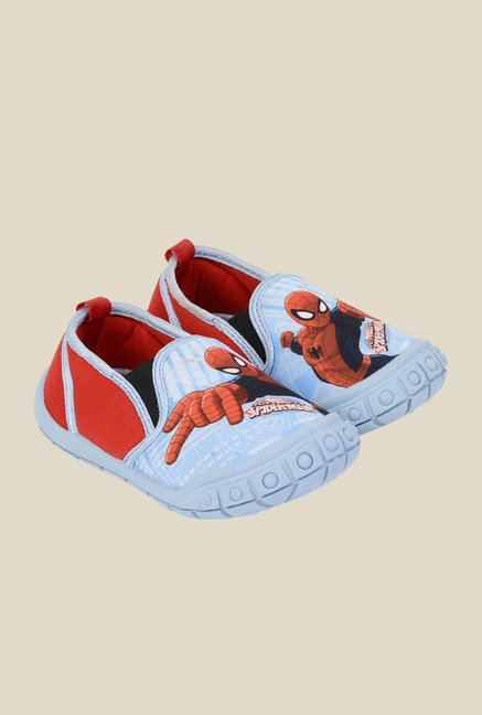 Spiderman Blue & Red Plimsolls