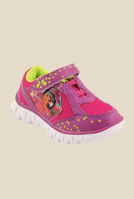 Dora Magenta & Purple Casual Shoes