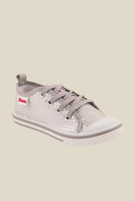 Dora Silver Casual Shoes