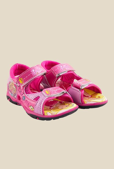 Barbie Magenta Floater Sandals