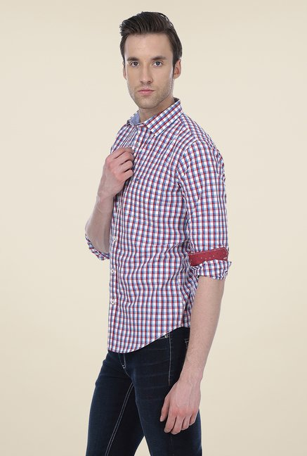 Basics Multicolored Checks Shirt