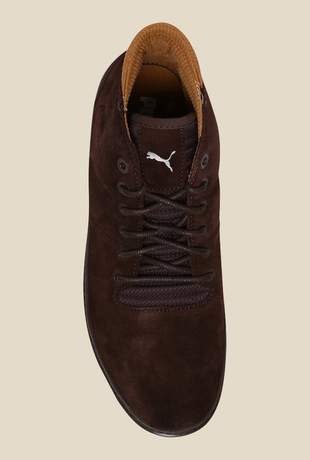 Puma MTSP Demi Chocolate Brown Casual Shoes