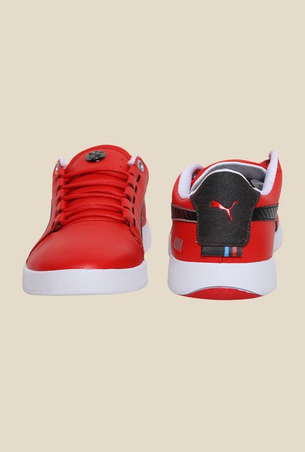 Puma BMW M Grille LO High Risk Red & Black Sneakers